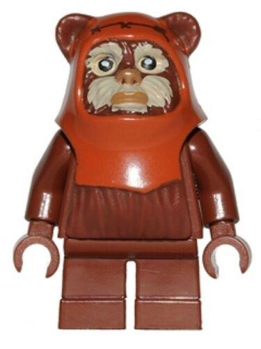LEGO Star Wars Minifigur Wicket Ewok Minifigur sw0513 Neu