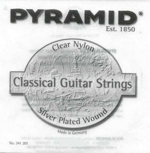 Pyramid Konzertgitarren - Einzelsaiten (kein SATZ Saiten!)