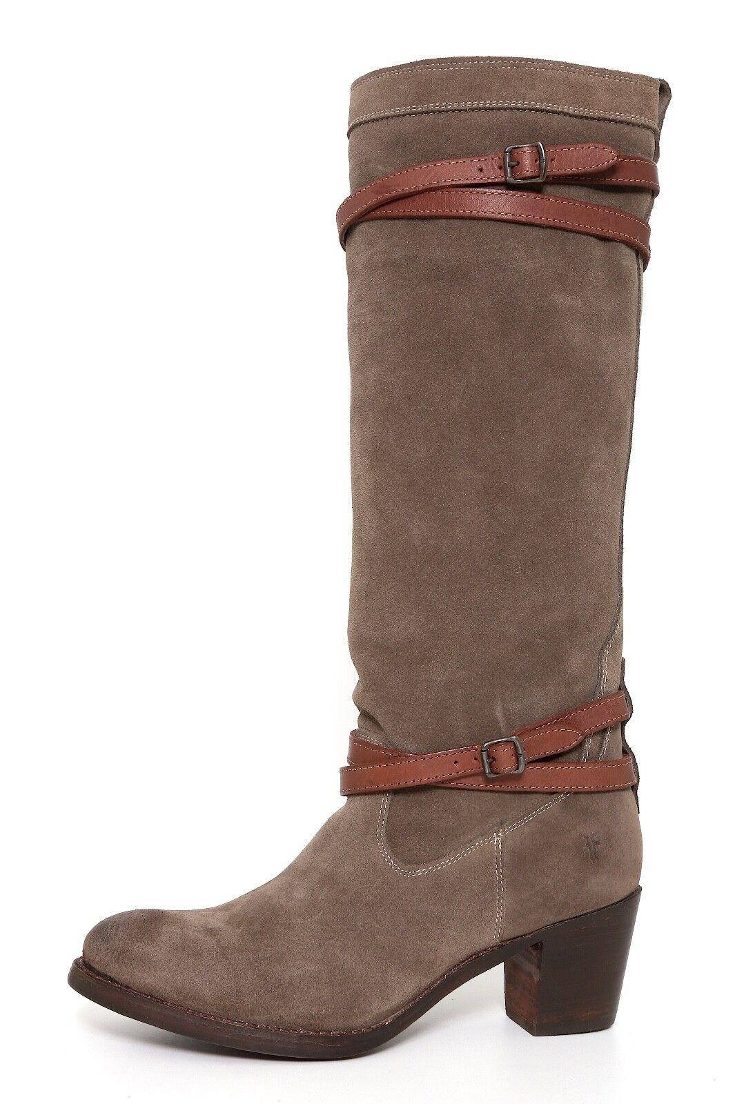 economico in alta qualità Frye Donna  Fatigue Suede Jane Strappy stivali stivali stivali 6431 Dimensione 11B  designer online