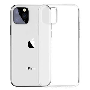 For iPhone 11, 11 Pro, 11 Pro Max Transparent Case Crystal Clear Flexible Cover