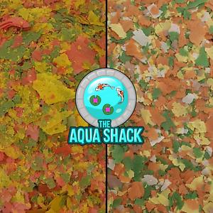 Goldfish-Flake-Premium-or-Basic-Fish-Food-Aquarium-Pond-Coldwater-Growth-Bulk