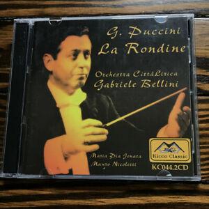 Gabriele Bellini / Puccini - La Rondine (Pisa 1999) - Jonata; Nicoletti; Giaco..