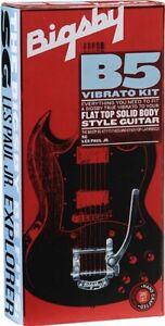 086 8013 003 Bigsby B5 Vibrato Kit Chrome Flat Top Guitar Sg Les