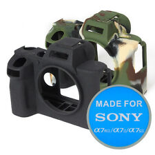 easy cover Protective Skin - Camera Cover for SONY a7RII/a7II/a7SII (black/camo)