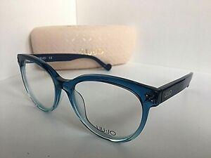 Analista Aire acondicionado motor  New LIU JO LJ 2656 LJ2656 405 Blue Gradient 53mm Rx Women's Eyeglasses  Frame 886895273022   eBay