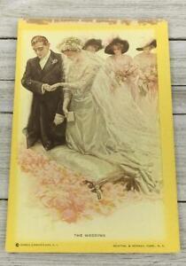 VINTAGE-THE-WEDDING-POSTCARD-POST-CARD
