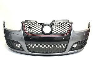 VW-Golf-MK5-GTI-Style-New-Front-Bumper-Grey-Paint-code-LA7T-1K0807217R