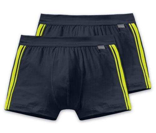 Vorteilspack SCHIESSER Herren Shorts Cotton Stretch Bluebird Essentials