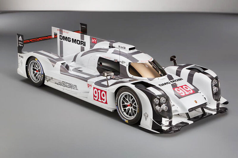 2 sets 1  10 2014 24 Hours Le uomos Porsche 919 Hybrid Racing RC corpo with wings  outlet online