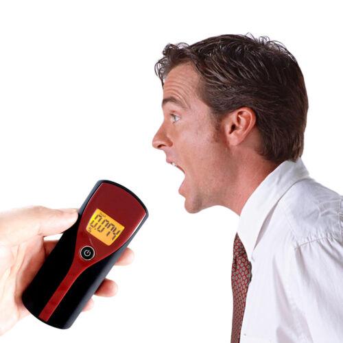 Professional Digital LCD Display Alcohol Breathalyzer Breath Tester II