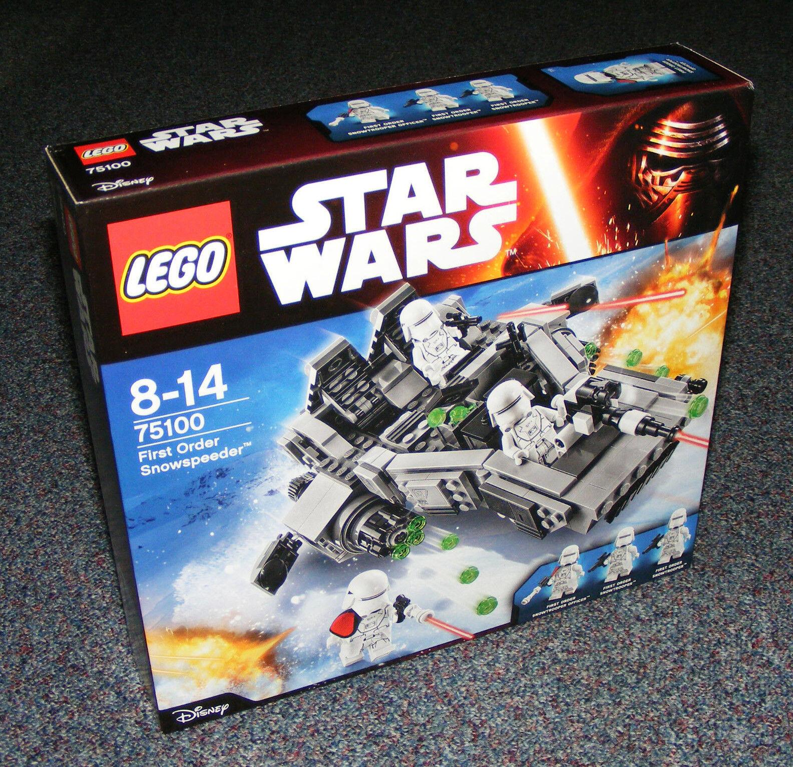 STAR WARS LEGO 75100 FIRST ORDER SNOWSPEEDER BRAND NEW SEALED SEALED SEALED 86bb92