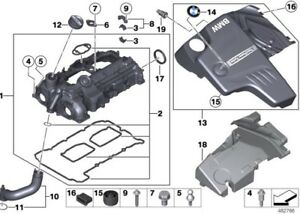 Details about Genuine BMW N20 Engine Valve Cover Gasket ,Bolts Kit  F35,F30,F20,F10,X1,X3