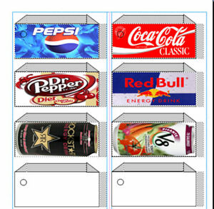 graphic regarding Free Printable Vending Machine Labels referred to as Info in excess of VENDING LABEL DVD - Taste Strips - Print your particular labels as by yourself will need them!