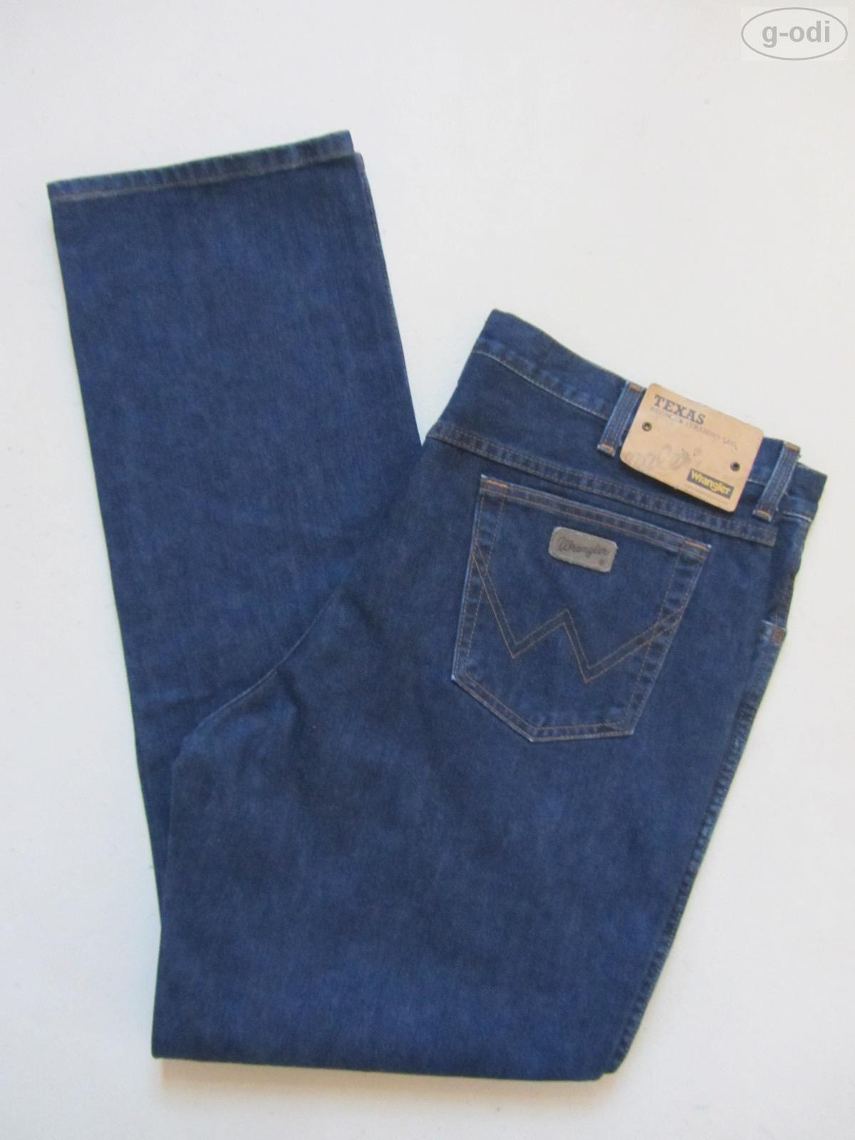 Wrangler TEXAS Jeans Hose W 42  L 34, NEU   Darkstone Washed Denim, RAR   Gr. 58
