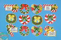 Design Works Counted Cross Stitch Kit Candy Canes & Wreaths Ornaments 1659 Craft Supplies