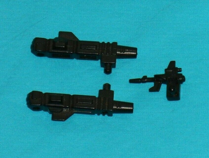 Original G1 Transformers METROPLEX SCAMPER R+L LAER ARM + GUN weapons parts lot