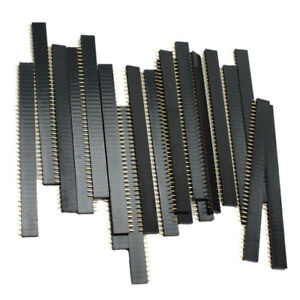 20-PCS-Female-40pin-2-54mm-Header-Socket-Row-Strip-PCB-Connector-For-Arduino