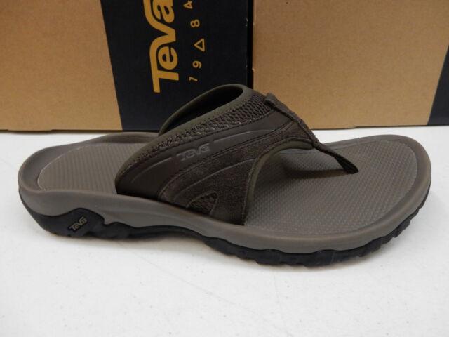 a5b251dc7032 Mens Teva Pajaro 1002432tkcf Turkish Coffee Slip on Flip Flop Sandals Shoes  11