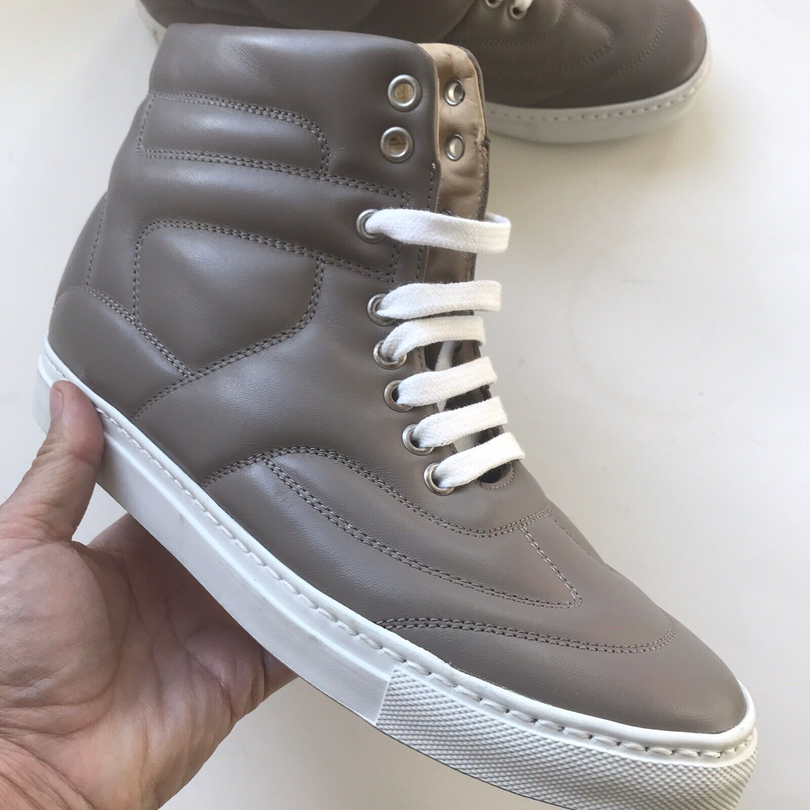 MM6 Martin Margiela Woman's Leather Sneakers Shoe… - image 3