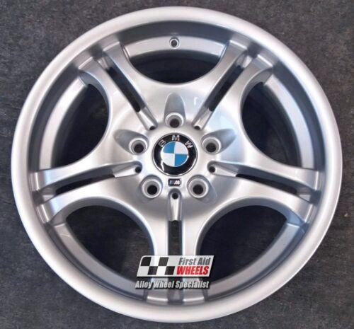 """BMW 3 serie E46 1X 17/"""" Genuina Estilo 68M Delantero Rueda De Aleación reformado S112SF"""