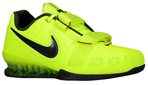 Details over NIKE ROMALEOS 2 II OLYMPIC WEIGHTLIFTING POWERLIFTING SHOES volt