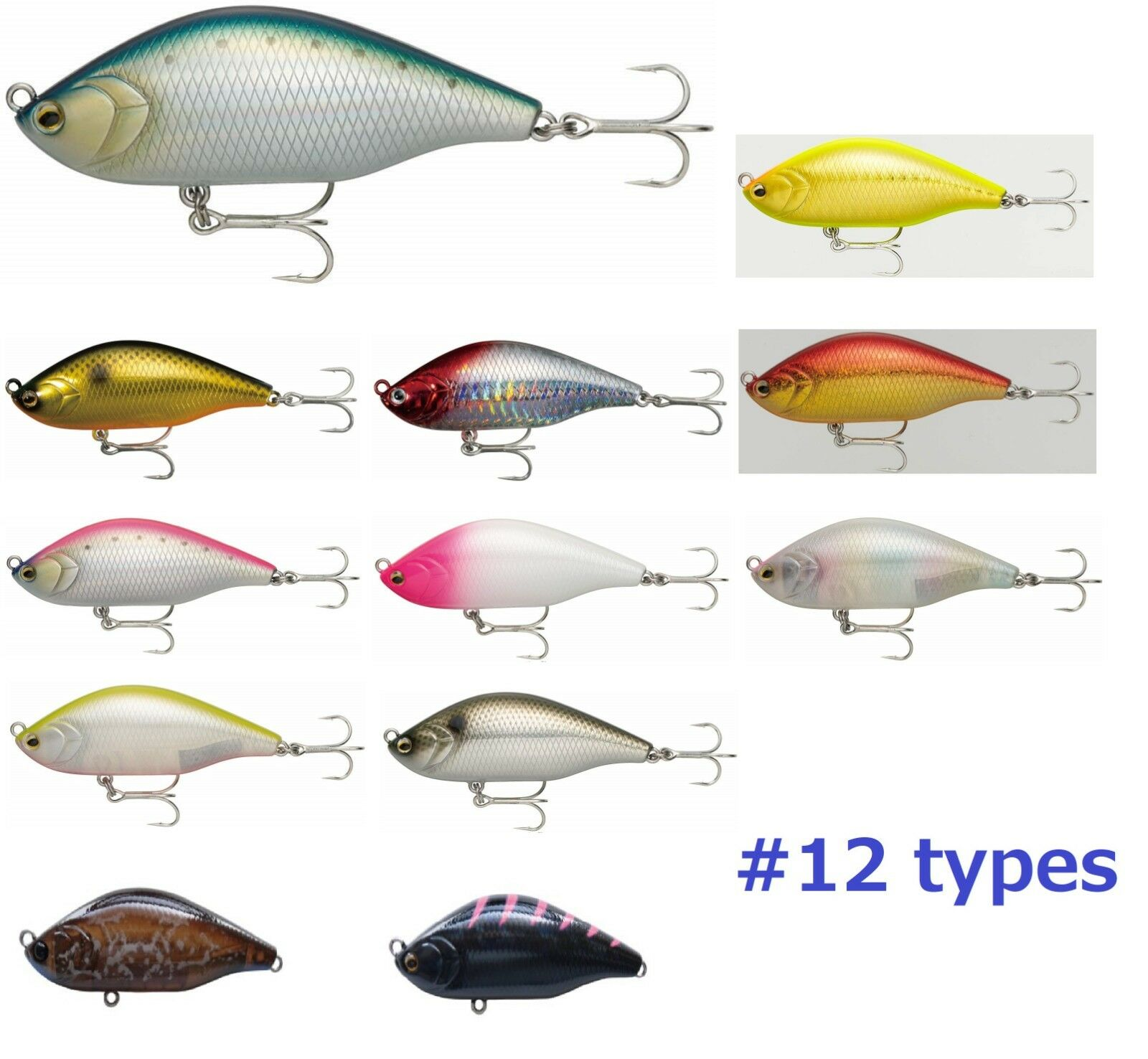 RAPALA Sinking lure NORTH CRAFT LURE AIR OGRE AOG70SLM sea bass 12 types
