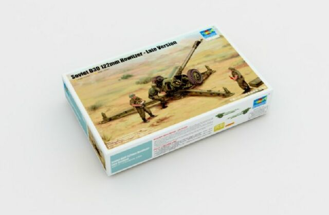 Trumpeter 1/35 02329 Soviet D-30 122mm Howitzer - Late Version