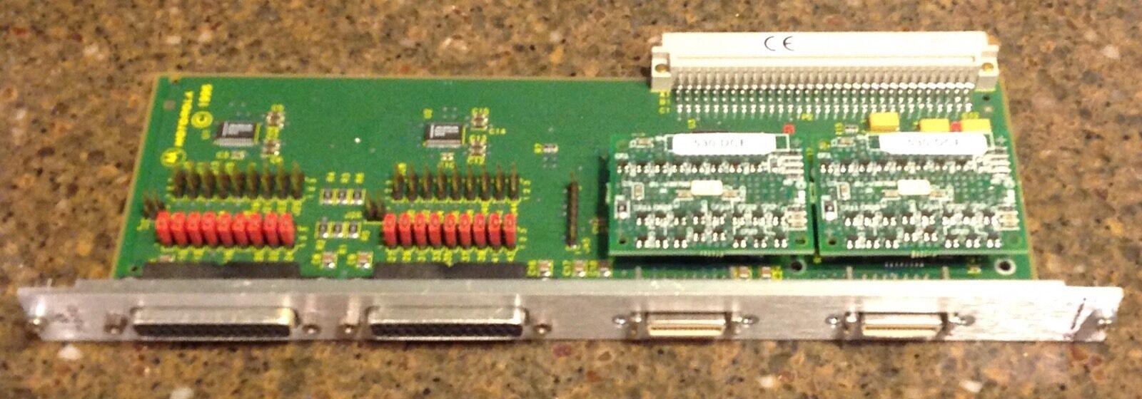 Motgoldla mvme board XR 712-121 01-W3245F 01a serial card