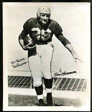 Tom Harmon Signed Photo 8x10 Autographed Michigan Heisman JSA Y37721