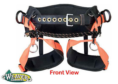 Weaver Tree Climbing Saddle,WLC-330 Freedom of Movement w//One Floating Dee Ring