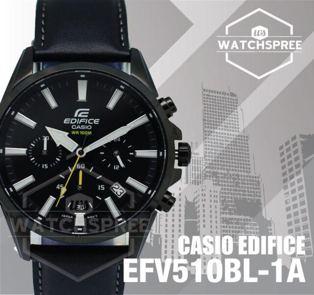 Casio Edifice Chronograph Watch EFV510BL-1A