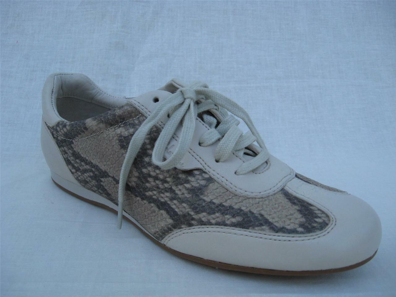 6.5M COLE HAAN WOMENS FLAT SNEAKER LEATHER SHOES MSRP $148.