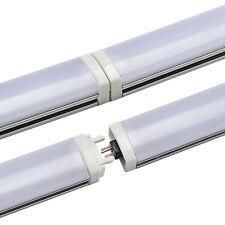 10pcs 1m 5050 LED Bar Light Cabinet Closet Sink Rigid Strip 12V 72leds PC Cover