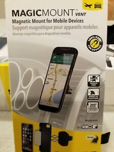 Scosche MAGVM2, MagicMount Magnetic Vent Mount For Mobile Devices Brand New Oem