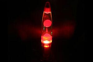 Lava-lampe-rouge-transparent-eclairage-lampe-a-base-de-lave-Lampe-de-lave