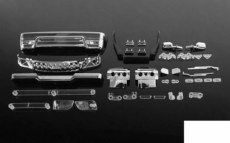 Plastic Molded Parts TOY 2001 Toyota Tacoma 4 Door Body Z-B0171 RC4WD Bumper
