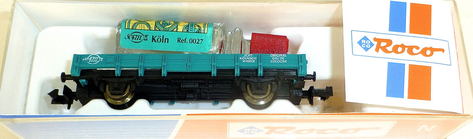 Car without Shores 4711 Real Cologne Loaded Roco 25927 N 1 160