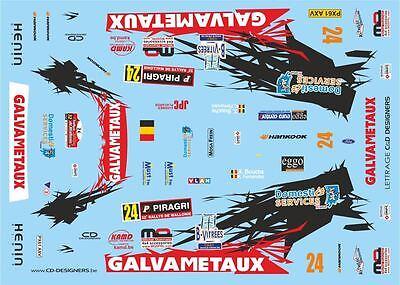 RALLYE DE SUÈDE 2015 #18 SOLOWOW D43362 DECALS 1//43 FORD FIESTA WRC