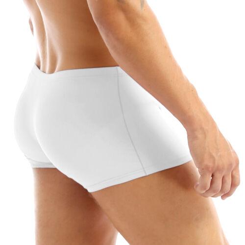 Men/'s Low-waist Soft Boxer Briefs Ice Silk Lingerie Shorts Underwear Underpants