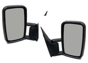 Mercedes Sprinter 1995-2006 Door Mirror Manual Black N//S Passenger Left