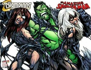 CHAMPIONS-VOL-2-1-AMAZING-SPIDER-MAN-VOL-4-19-RAMOS-NYCC-VARIANT-SET