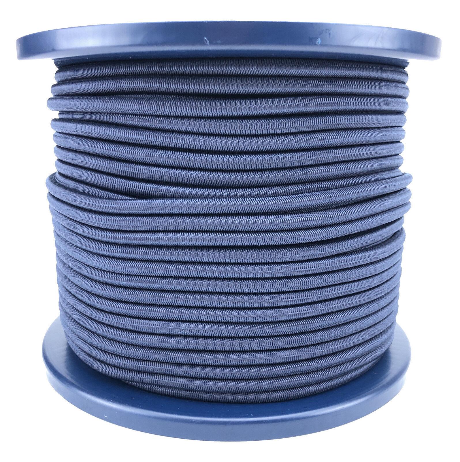 6mm Blu Navy Bungee Elastico Corda x 75 Metri Cordicella Elastica Corda