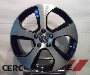 Cerchi-in-lega-Volkswagen-golf-5-6-7-Passat-Scirocco-GT-GTD-da-17-034-NUOVI-OFFERT