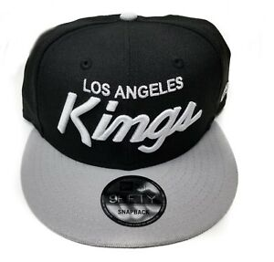 Los-Angeles-Kings-New-Era-9Fifty-2-Tone-Vintage-Script-Eazy-E-NWA-Snapback-NHL