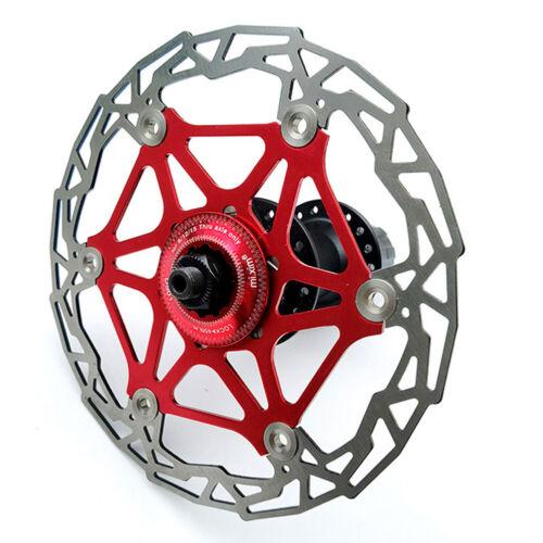 MTB Road Bike Center Lock Adapter For 6 Bolt Disc Brake Rotor On Centrelock Hub