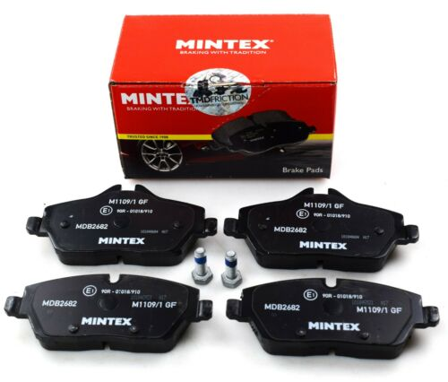 REAL IMAGE OF PART MINTEX FRONT AXLE BRAKE PADS FOR BMW MINI MDB2682