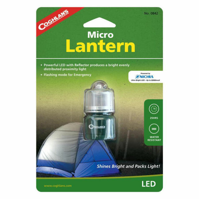 Coghlans L.E.D. LED Micro Lantern Lighting w/Conical Reflector- Coghlan's #0842