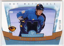 MARIAN HOSSA 2007 FLEER HOT PROSPECTS HOT MATERIALS GAME USED JERSEY#/100