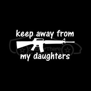 Stay away from my daughter