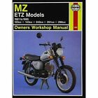 MZ ETZ Models Owners Workshop Manual by Mark Coombs (Paperback, 1991)